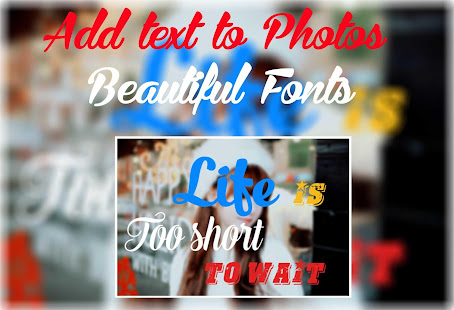 Download Text on Photos - Name Art 4.0.8 Apk for android