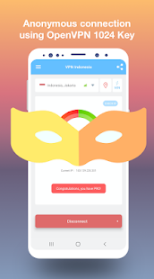 Download VPN Indonesia - get free Indonesian IP 1.63 Apk for android