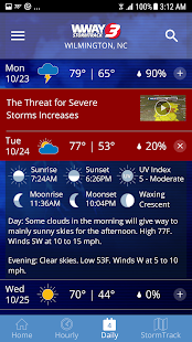 Download WWAY TV3 StormTrack 3 Weather 5.3.706 Apk for android