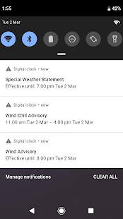 Download Digital Clock and Weather Widget 6.4.1.443 Apk for android