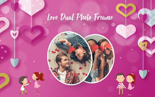 Download Dual Love Photo Frames 1.0.8 Apk for android