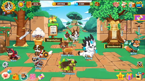 Download Dungeon Dogs - Idle RPG 2.1 Apk for android