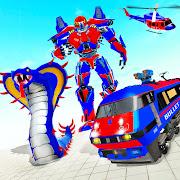 Snake Robot Train Transforming - War Robot Games 2.0.8 Apk for android